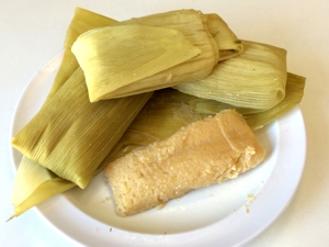 Sweetcorn Tamale Photo